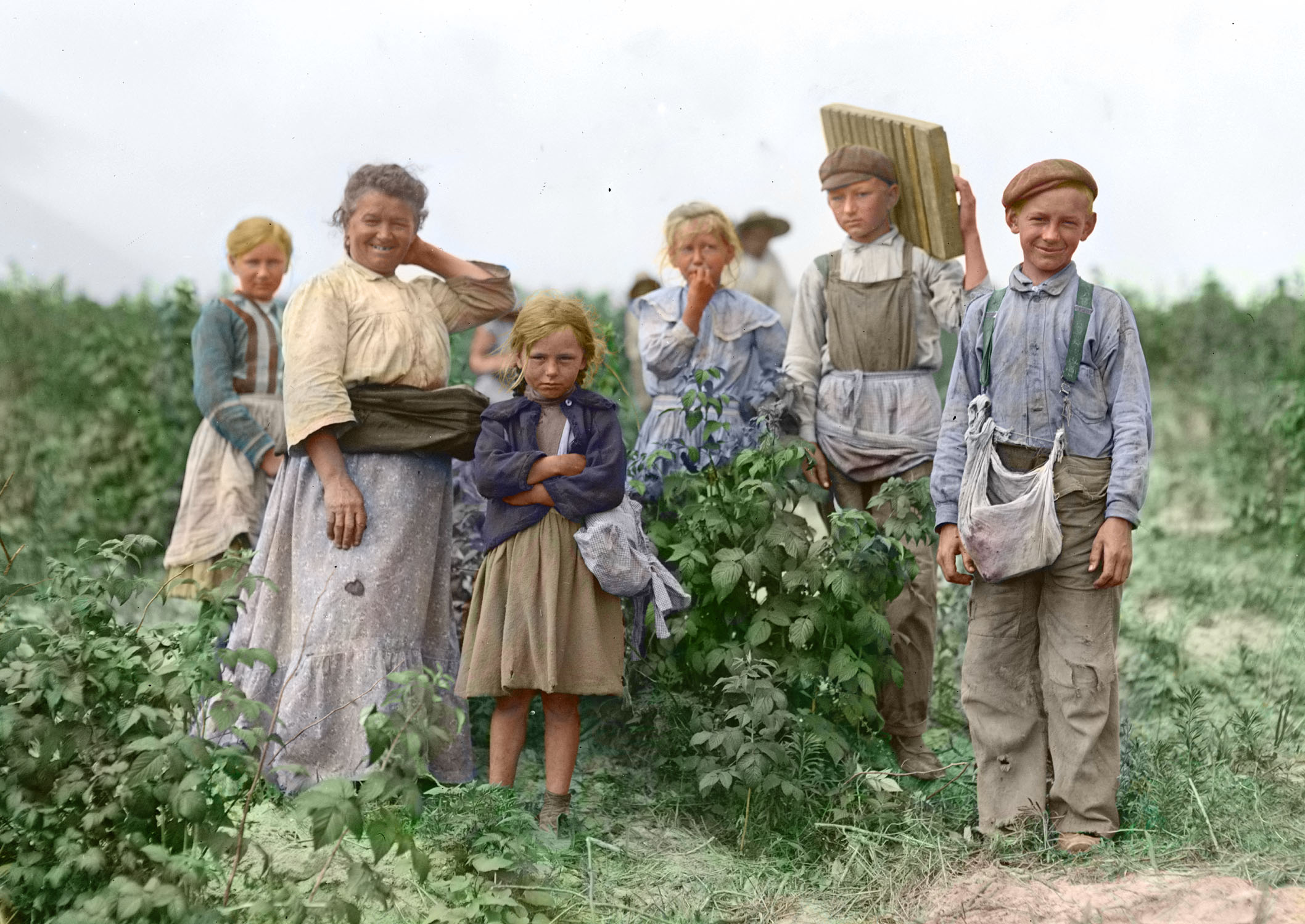 Polish immigrants in the United States, 1909.